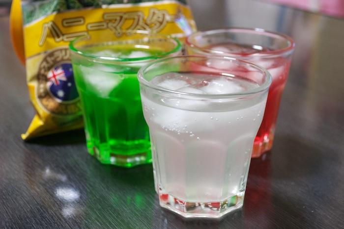 かき氷シロップジュース