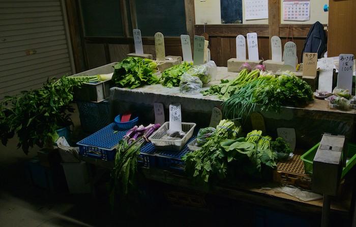 無人野菜売り場