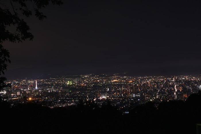 将軍塚からの夜景1