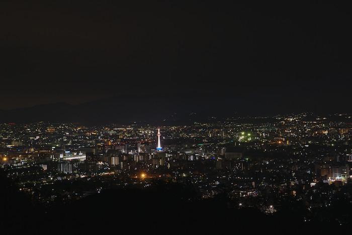 将軍塚からの夜景2
